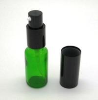 噴霧玻璃瓶 (綠色) 可存放膠性銀,花精